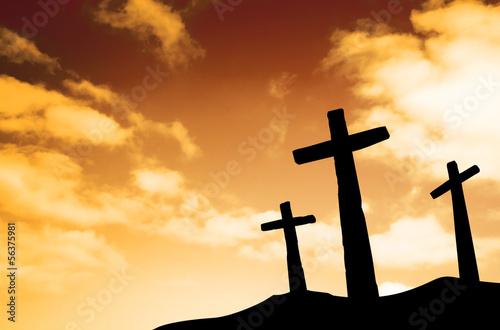 Poster, Tablou Crosses