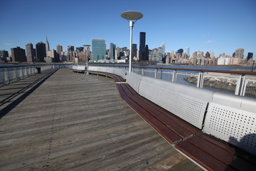 NYC - Long Island, view to Manhattan