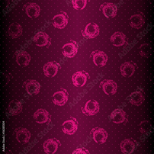 Seamless purple shiny pattern