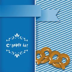 Oktoberfest O'zapft is! - Karte Card