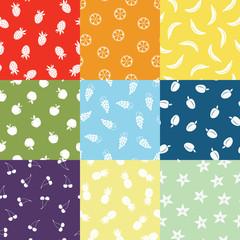 Nine Fruit Patterns