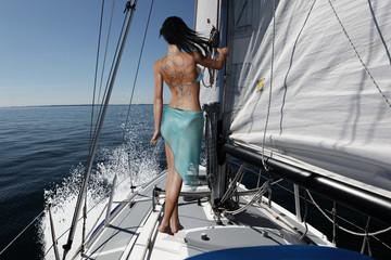 Segeln vor dem Wind