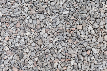 Gray industrial gravel background photo texture