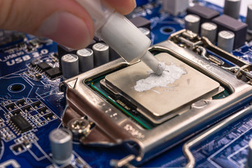 Thermal grease for computer