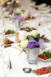 Dining table at a celebration