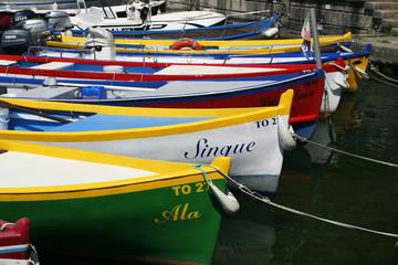 Лодки на озере Гарда