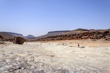 Morocco, Draa valley, Stone river