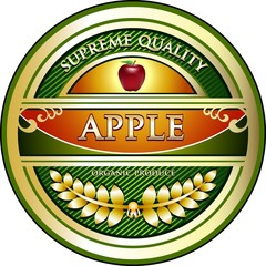 Apple Vintage Label