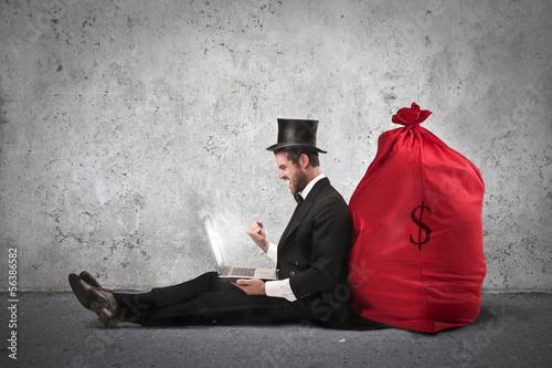 very rich man