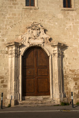 Entrance to the Cathedral, Taranto, Italy