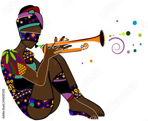 Fototapeten,musik,mustern,afrikanisch,afrika