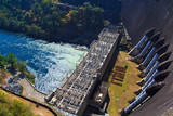 The power station at Srinagarind Dam in Thailand