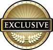 Exclusive Gold Vintage Label