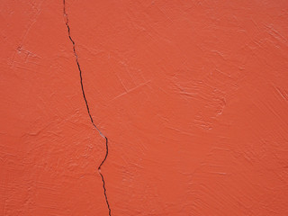 Orange wall and fracture