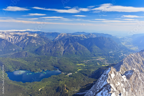 Bavarian Alps of Germany