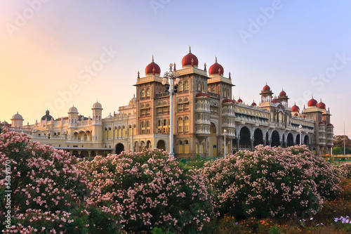 Foto op Aluminium India Mysore Palace, India