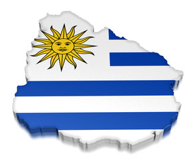 Uruguay (clipping path included)