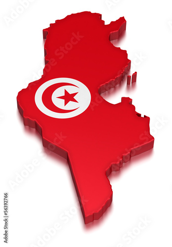 Tunisia (clipping path included)