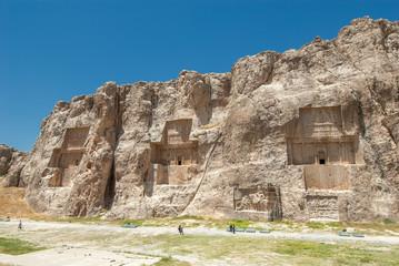 Naqsh-e Rustam ancient necropolis, Pars Province, Iran