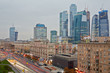 Kutuzov Avenue and Moscow International Business center
