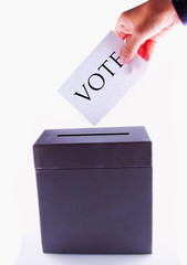 Urn for vote