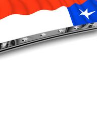 Designelement Flagge Chile