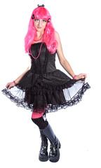 Manga anime Girl Haare Pink