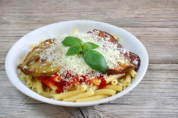 Pasta alla norma siciliana
