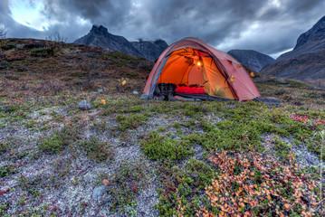 Camp after Sunset