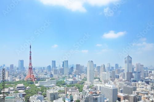 Poster 東京の眺め