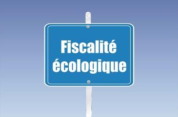 panneau fiscalité écologique