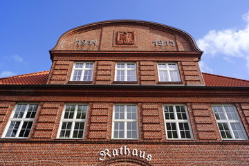 Rathaus in BÜSUM ( Schleswig Holstein )