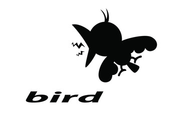 animal bird silhouette