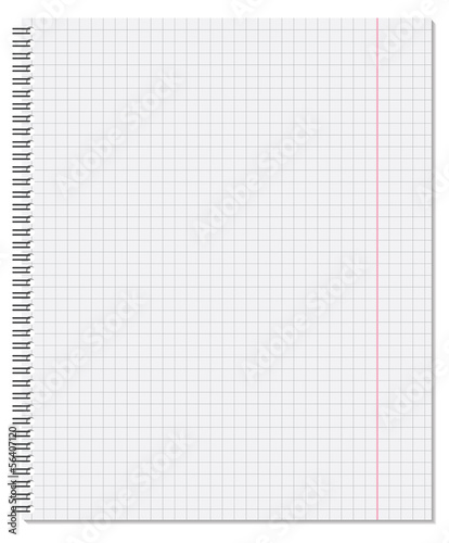 Notebook. Vector illustration.