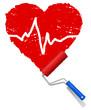 Herz malen Puls