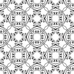 Seamless ornamental pattern, vector