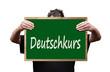 Deutschkurs, Schultafel