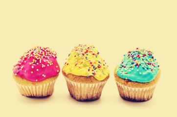 Cupcakes, vintage