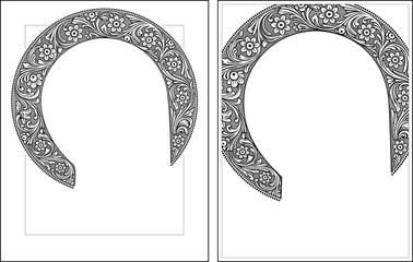 Nimbus outline3-4 vector picture