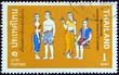 Historical costumes, Sukhothai period (Thailand 1972)