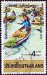 Floating market, Wat Sai (Thailand 1971)
