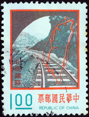 Taiwan North link railway (Taiwan 1974)