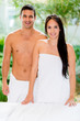Couple at the spa