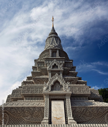 Stupa of His Majesty Ang Duong in Phnom Penh, Cambodia