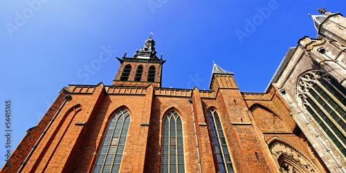 canvas print picture Stevenskerk in NIJMEGEN ( Niederlande )