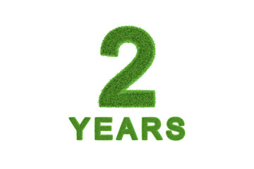 2 Year eco-friendly anniversary celebration