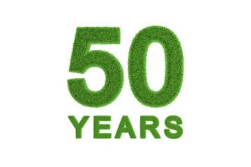 50 Years eco-friendly anniversary celebration