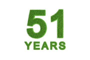 51 Years eco-friendly anniversary celebration