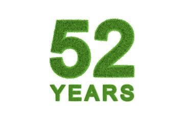 52 Years eco-friendly anniversary celebration