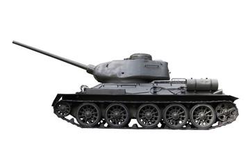 Russian Tank T34 - Stock Image